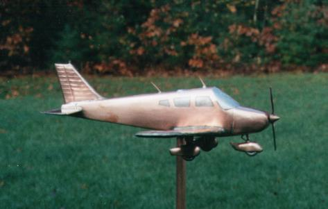 Piper Cherokee Weathervane