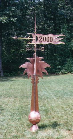 USC - Palmtto Tree Weathervane