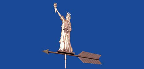 Statue of Liberty  Weathervane
