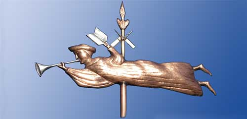 Mormon Angel  Weathervane