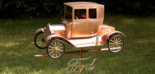 Model T Ford Weathervane