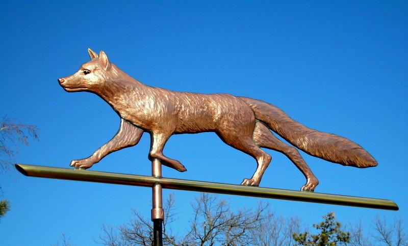 Fox Weathervane Custom Copper Fox Weathervane Buy