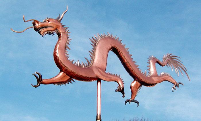 dragon weathervane - Weather Vanes
